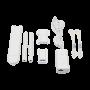 Access Point UniFi MESH para exterior 802.11ac doble banda 2.4/5 GHz, MIMO 2x2, antenas desmontables, hasta 1167 Mbps